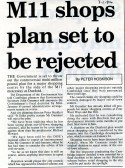 Plan for Robert Sayle to move to Duxford rejected.