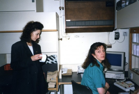 Partners working in the Robert Sayle Cash Office