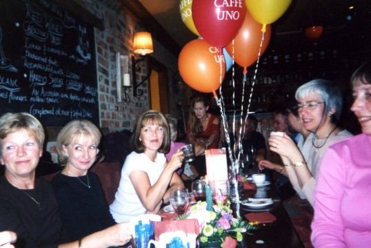 Leaving meal for Sue Hood & Heather Jolley.