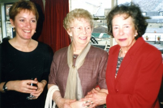 Janet Gardner, Jean Edge and Pat Hepburn from the Robert Sayle Offices