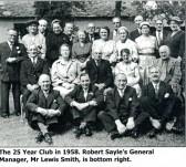 Waterloo Club Lunch 1958