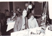 Robert Sayle Christmas Party with David Cox and Olive Langley