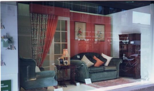Robert Sayle Furnishing Fabric window