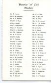 List of members of the Robert Sayle Waterloo Club in 1975