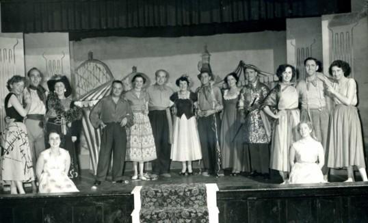 Robert Sayle Drama group production.