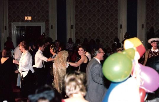 Robert Sayle Cambridge 1986 Staff Christmas Party Guild Hall.