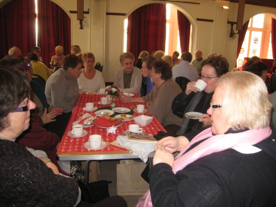Christmas coffee morning for pensioners
