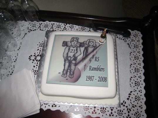 The RS Rambling Club celebrate 21 successful  years .