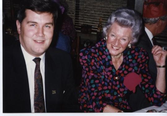 Steve Lunn and Tini Reeder