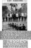 Cambridge Chronicle report on the Ladies Crew of 1929