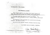Testimonial Letter for Miss Marguerite Clabaut