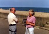 Basking in the Sun on the Suffolk Coast