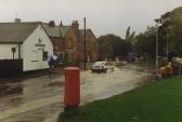Junction Gidding Road & High Street ,Sawtry more flooding.