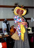 """Stilton Players Sawtry. """"You wont see me in rubbish love"""" The Dame strutting her stuff."""