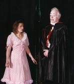Stilton Players Sawtry. Owen Smithers playing Dracula in 'Goldie Locks & the three bears.