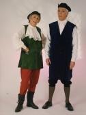 Stilton Players Sawtry. Wendy Payne & Owen Smithers as Robbers. Click 'Text Show button. The Stilton Players Drama Society