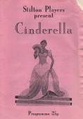 Stilton Players Programme 'Cinderella' 1995 at Sawtry College.