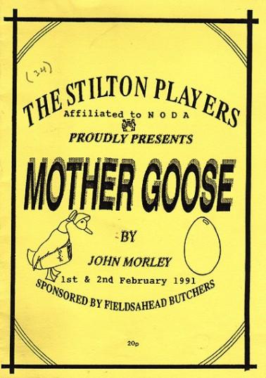 Stilton Players.Mother Goose Programme.
