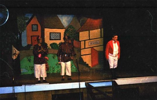 Stilton Players Rehearsals for 'Goldilocks' panto.