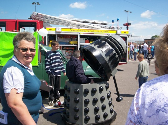 Dalek at the Sawtry Carnival