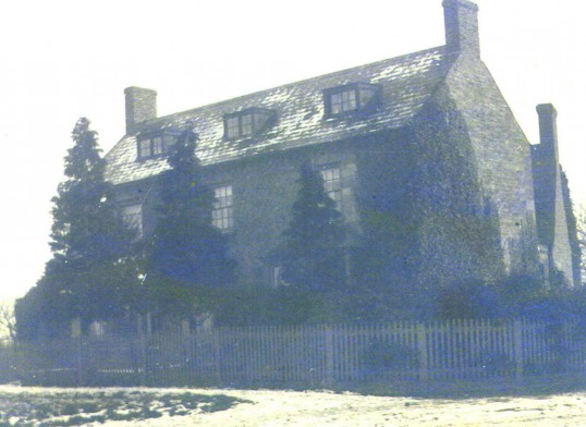 Chesham House,  on The Green, Sawtry which later became Greystones Public House in 1981