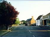 Sawtry High Street. Sawtry High Street
