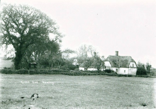Cottages, Green End, Sawtry