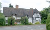 Thatched Roof Glatton 15th century cottage once the home of Beverley Nichols. (Allways)