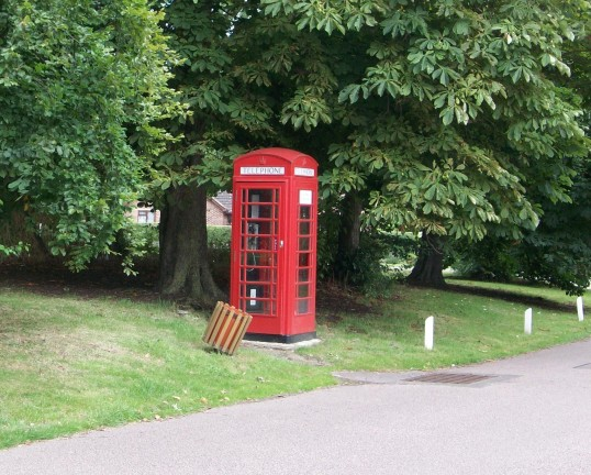 Red Telephone Box, Glatton, how long can this survive?