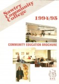 Community College Sawtry education brochre.