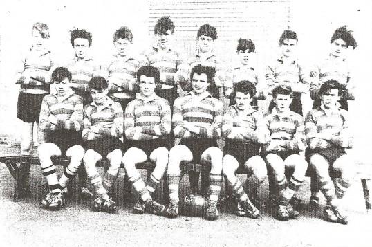 Community College Sawtry. Senior rugby team