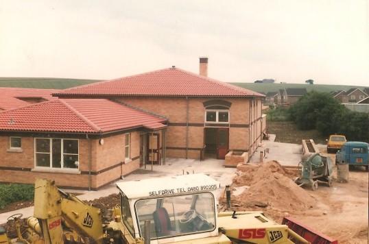 New Junior School Sawtry. Near completion