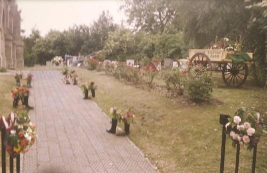 Sawtry Parish Church Flower Festival.
