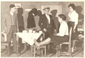 """Ma's Bit of Brass"" Glatton Drama Group playing in Glatton Village Hall."