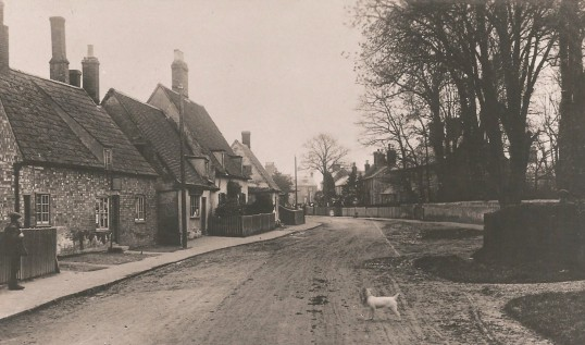Sawtry High Street looking South.