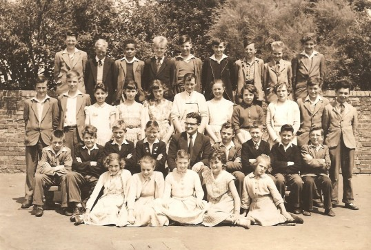 Sawtry School,Seniors Class 1958 Old School Hall.
