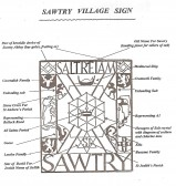 Explanation of Sawtry village sign.