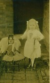 Alice Ena Rowell at Conington aged about five