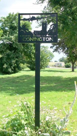 Connington Village Sign