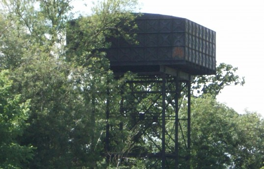 The Water Tower at Connington is the last remaining structure of the air base and is now 55 years old.