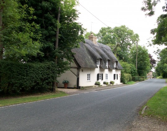 17th Century cottage High Haden Road Glatton.