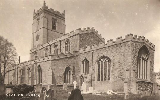 St. Nicholas Church Glatton. (Rear view)