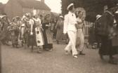 King George 6th Coronation celebrations in Sawtry.(Corner of Gidding Road & High Street )