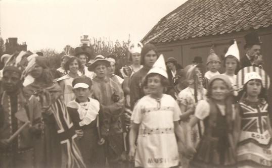 King George 6th Coronation celebrations in Sawtry.