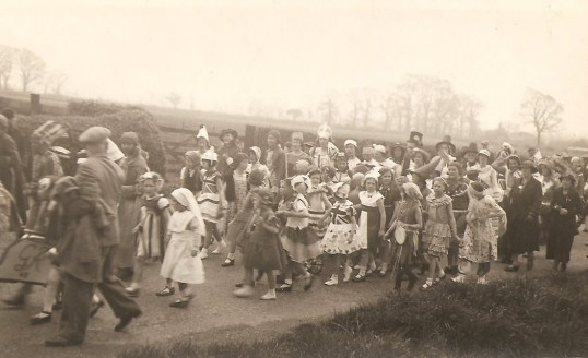 King George 6th Coronation celebrations in Sawtry. (Green End)