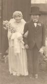 Sawtry W.I. Social. Fancy Dress Special Prize (Bride & Bridegroom)