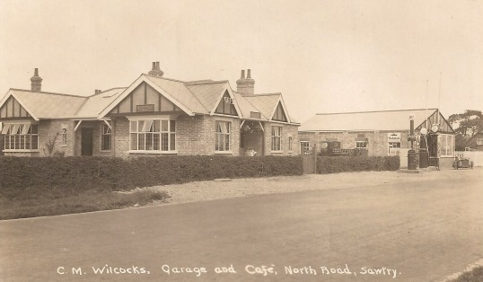 C M Wilcocks Garage and Cafe, Great North Road Sawtry.