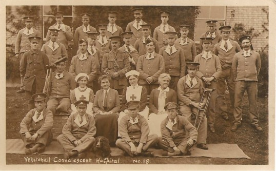 Whitehall Convalescent Hospital Sawtry. (Coppingford Road)