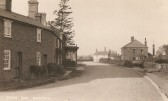 Green End Sawtry.(Looking toward the Bell Public House)