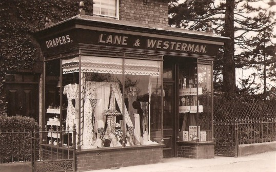 Lane and Westerman,Green End Sawtry. (Drapers)